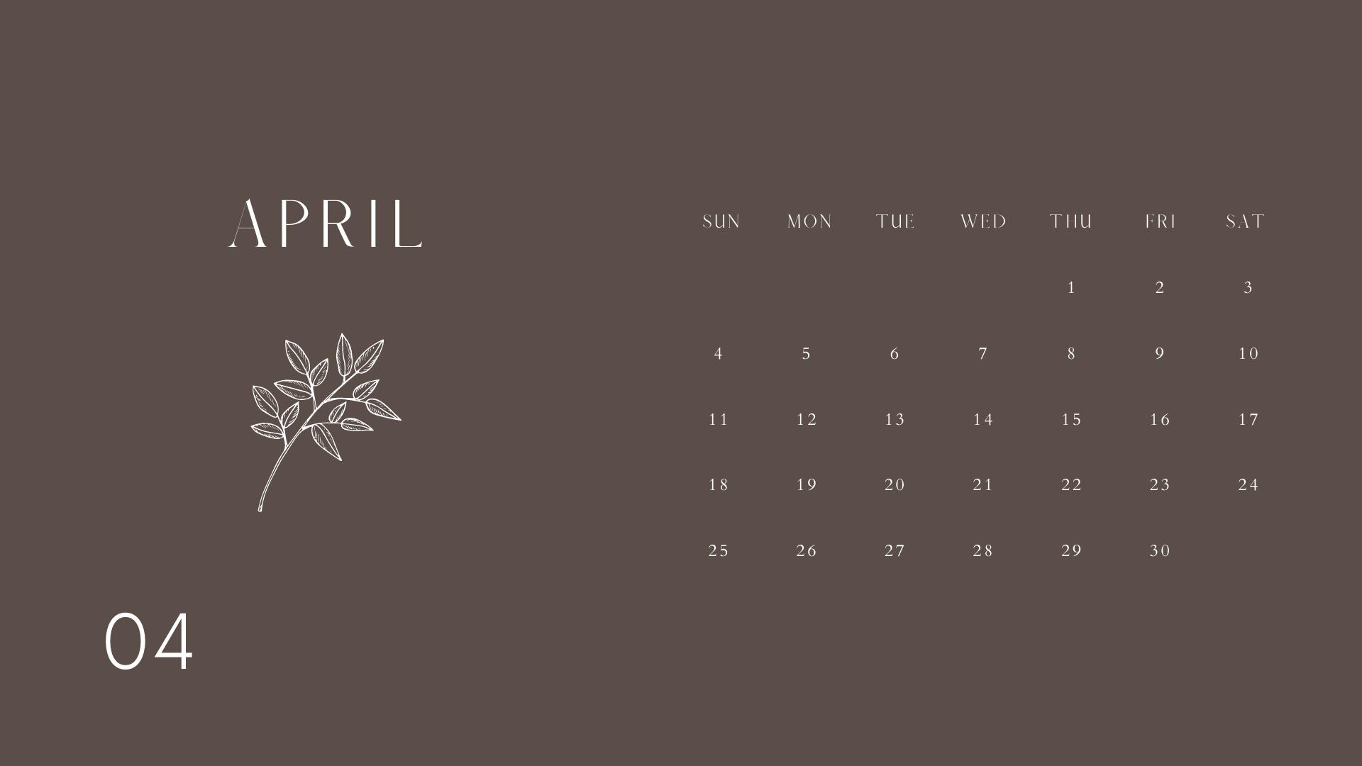 WOLC Calendar